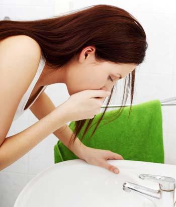 Утренняя тошнота во время первого месяца беременности