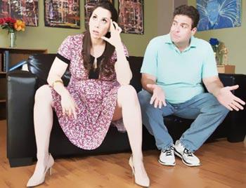 Во время беременности отношения с мужем испортились