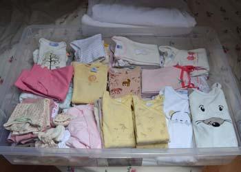 Список детских вещей для новорождённого на первое время