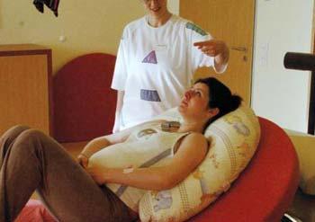 Различные техники для облегчения родовых болей