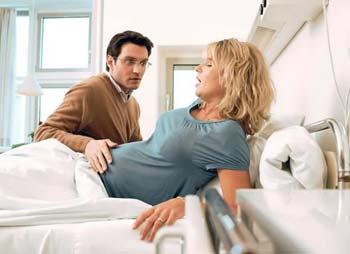 Поддержка мужа во время родов