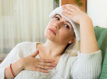 Как справиться с мигренью беременной женщине?