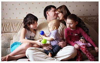 Любовь в семье
