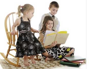 Воспитание четверых детей в семье