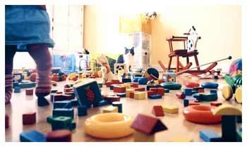 Как научить ребёнка убирать игрушки