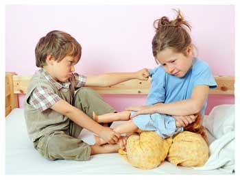 Причины детских конфликтов