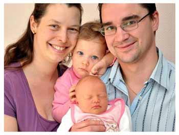 Рождение второго ребёнка в семье
