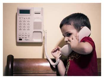 Как оставить ребёнка дома одного