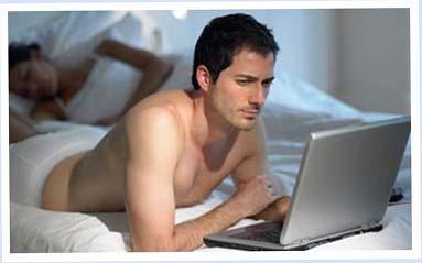Мужчиты чаще смотрят порно